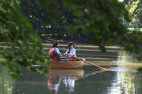 lago privato, parco privato