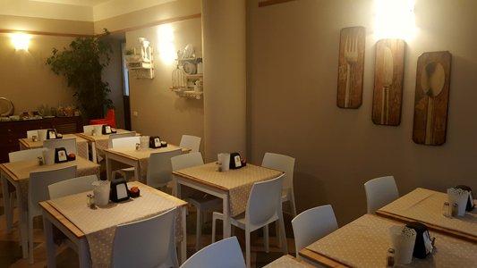 vista interna di una ristorante