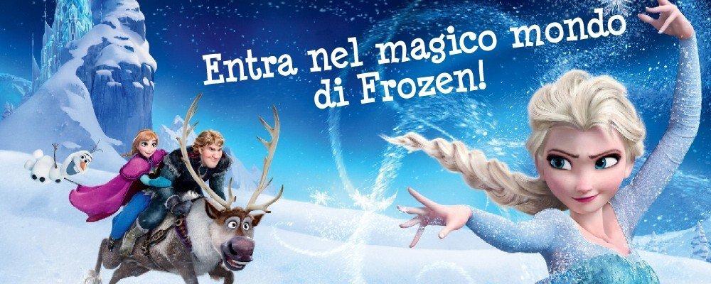 il magico mondo di frozen