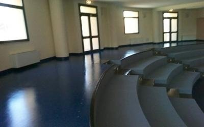 pavimenti in gomma per impianti sportivi