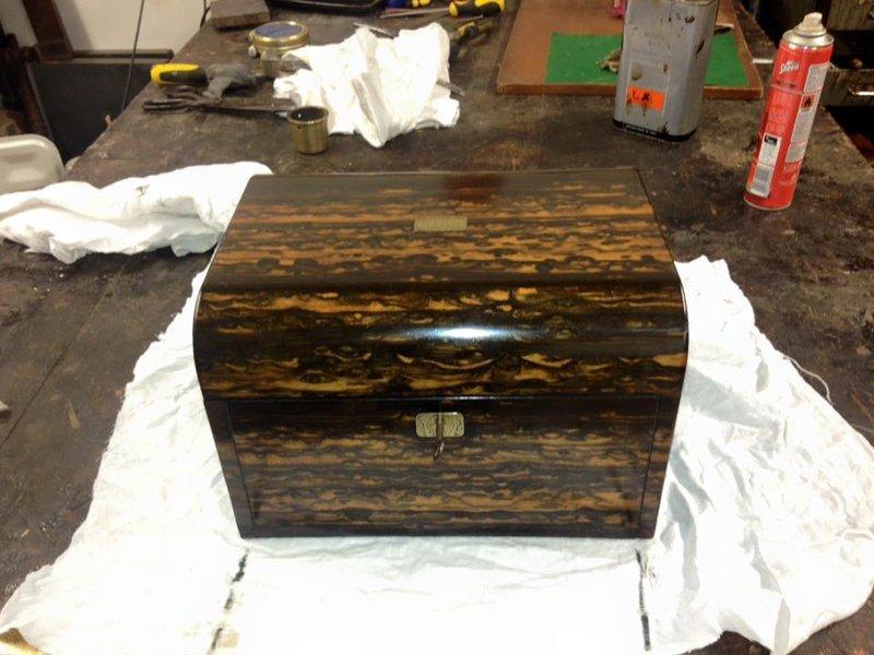 wooden chest restoration