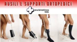 supporti per vestizione, infilacalze, supporti ortopedici per deambulazione