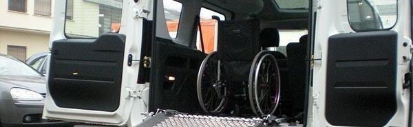 allestimenti di autoveicoli e furgoni per disabili