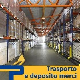 trasporto e deposito merci