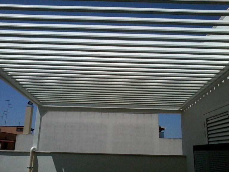 copertura in alluminio bioroll