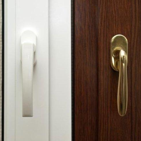 Finestre in legno e PVC