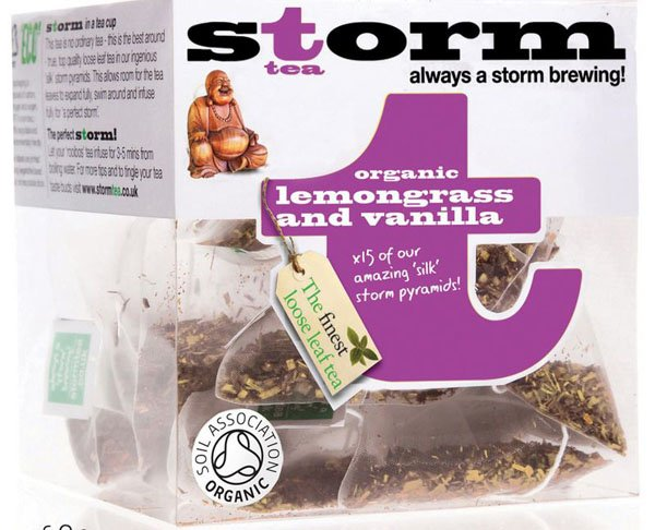 <span>Lemongrass and Vanilla Tea</span>Chunky lemongrass mixed with delicate vanilla pods.