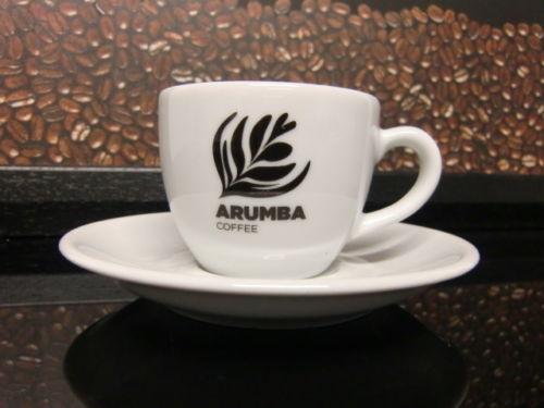 <span>3oz Coffee Cup & Saucer</span>Espresso size