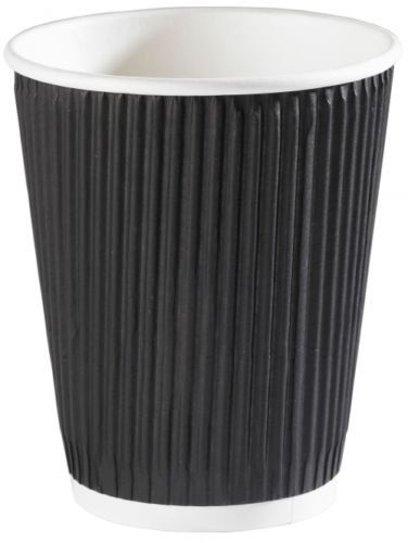 <span>Hot Drinks Cup & Lid</span>12oz, black, insulated