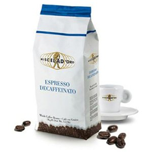 <span>Espresso Decaffeniato</span> Decaffeinated blend with intense aroma and a smooth crema