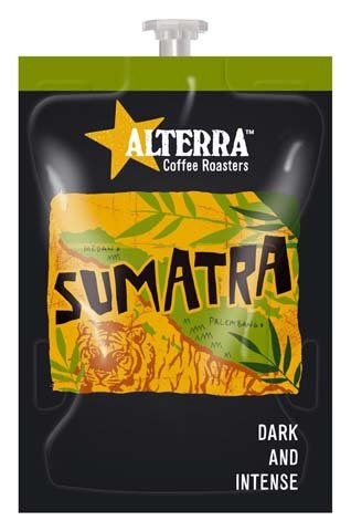<span>Sumatra Coffee</span>Heavy bodied with a bold finish.