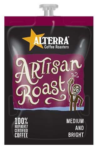 <span>Artisan Roast</span>Medium and bright blend.