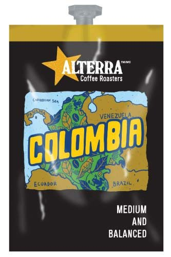 <span>Columbian Coffee</span>Balanced, fragrant experience.