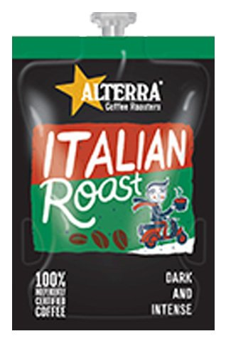 <span>Italian Roast</span>Dark and intense. Hint of caramel and spice