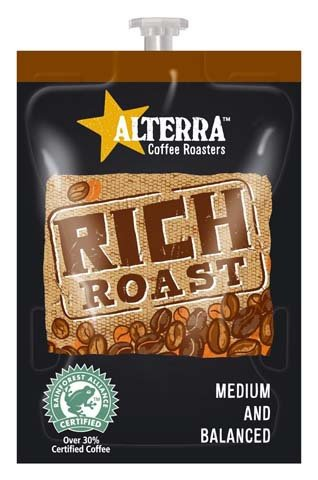 <span>Rich Roast</span>Medium bodied, fruity and sweet.