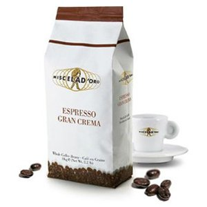 <span>Gran Crema</span> Great blend with an intense flavour and a thick crema