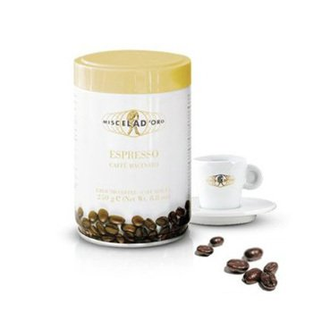 <span>Caffe Macinato Espresso</span>Full body, great aroma and velvety crema.