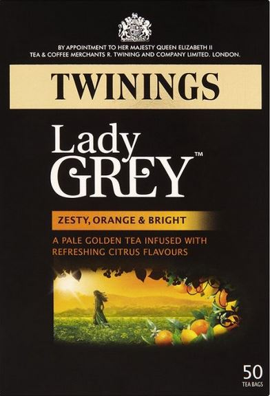 <span>Lady Grey</span>infused with citrus flavours
