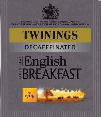 <span>English Breakfast Decaffeinated</span>Enjoy with a traditional breakfast