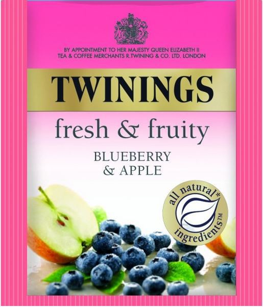 <span>Blueberry & Apple</span>fresh and fruity