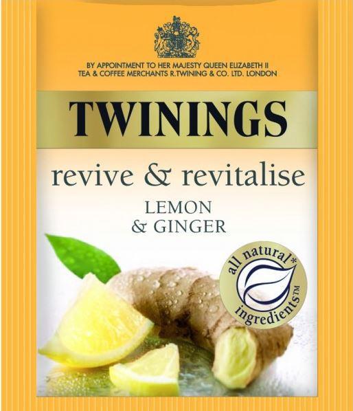 <span>Lemon & Ginger</span>revive and revitalise