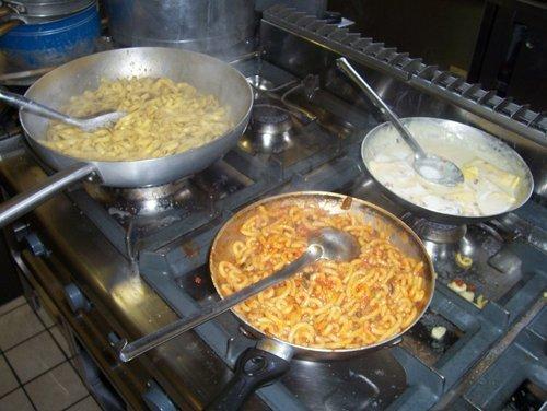 pentole con pasta