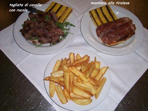 carne patate e polenta