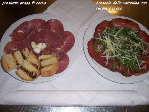 piatti di salumi friulani