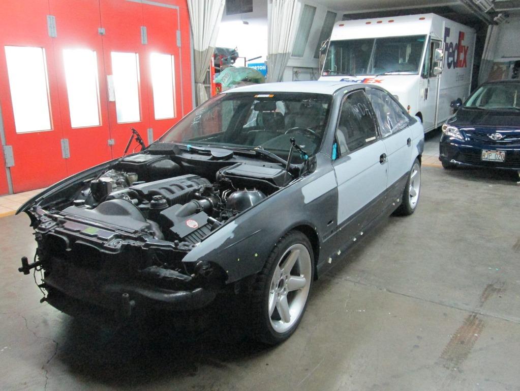 BMW 528I BEFORE