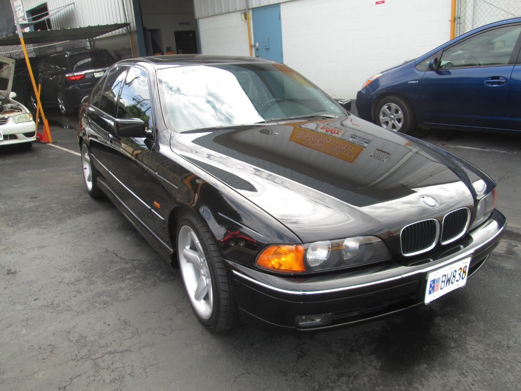 BMW 528I AFTER