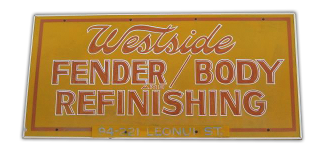 Westside Fender Body Refinishing in Waipahu