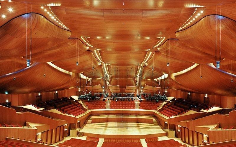 ALI Parquets Auditorium Roma Architetto Renzo Piano