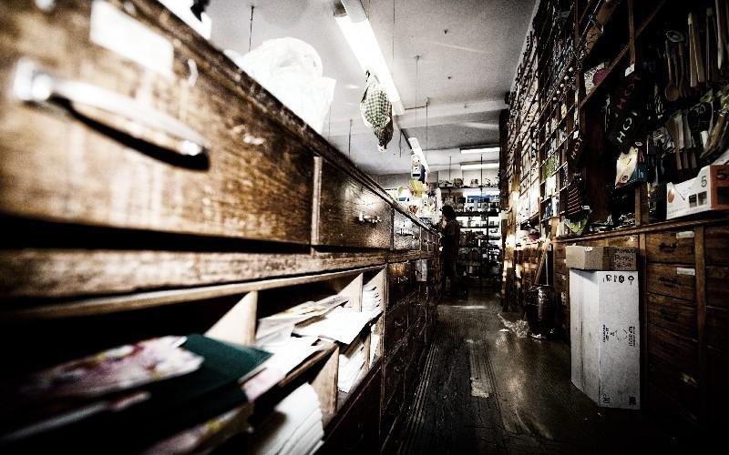 Interno negozio Luigi Vaccani