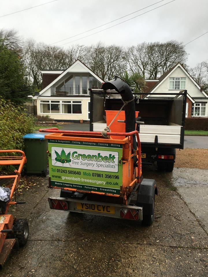 Greenbelt equipment