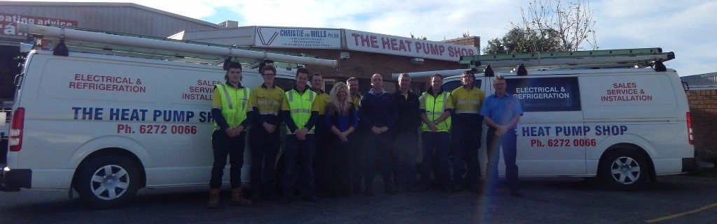heat pump shop home page hero