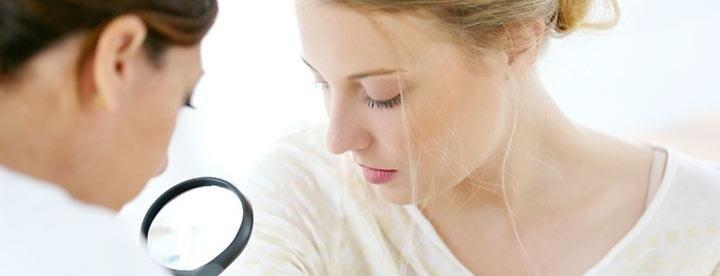 Prestazioni mediche dermatologiche