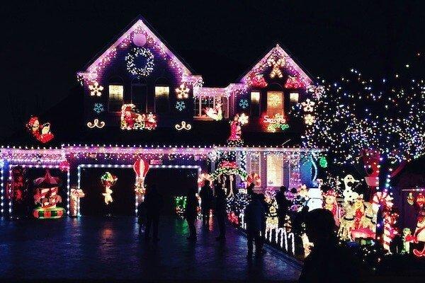Christmas Light Tour San Diego