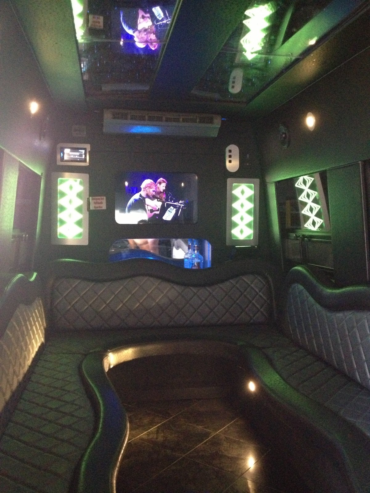 14 Pass. Mercedes limo bus