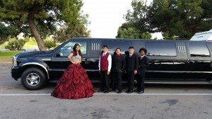 Quinceanera party limo San Diego