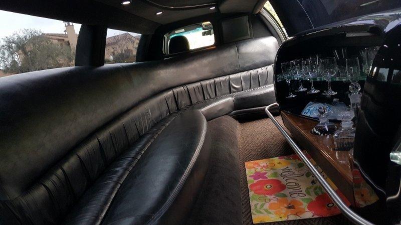 Lincoln town car limo San Diego