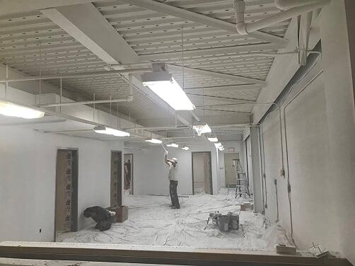 Commercial Paint Project Buffalo Ny