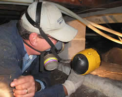 Close up of home inspections