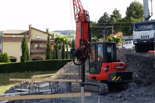 Trivellazione di pozzi per edilizia