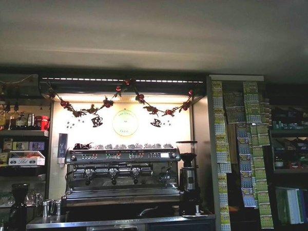 Interni del Bar Centrale Nuoro