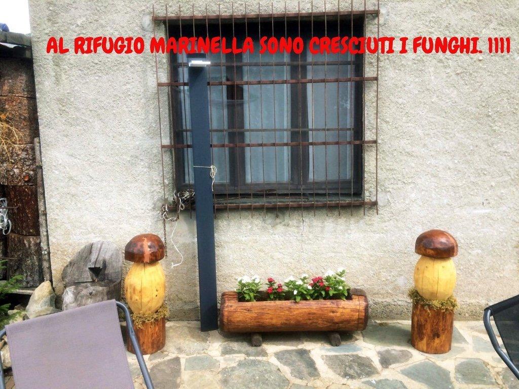 AL RIFUGIO MARINELLA SONO CRESCIUTI I FUNGHI !!!