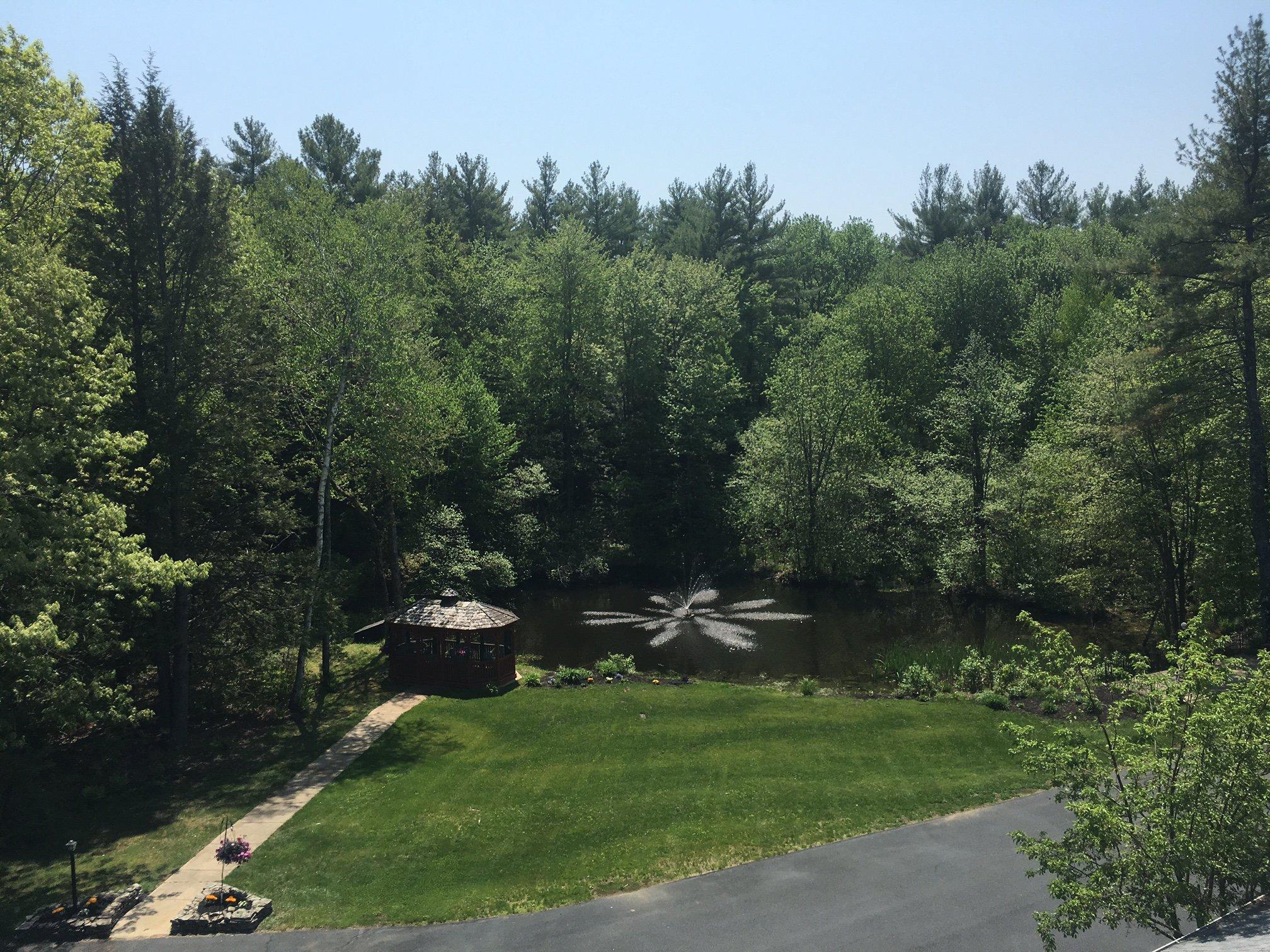 Retirement Community Pond