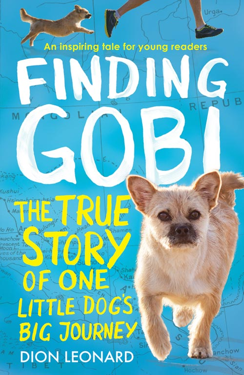 Finding Gobi Dion Leonard Young Readers Edition Cover