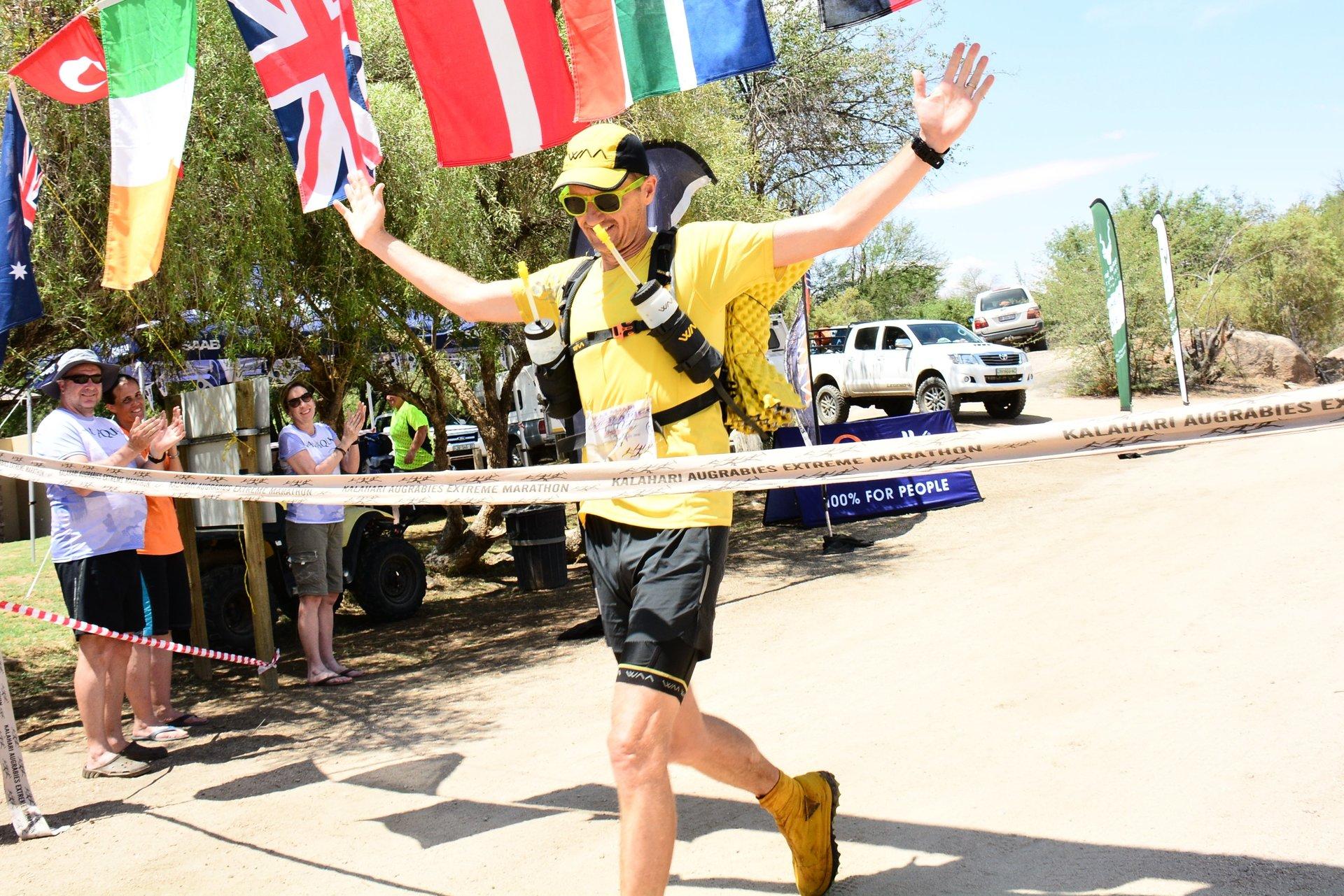 Dion Leonard Kalahari Extreme Marathon Winner 2017
