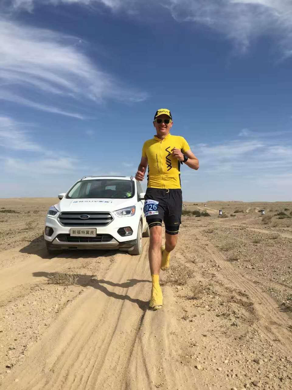 Dion Leonard, China, Changan Ford, Gobi 100km 2016