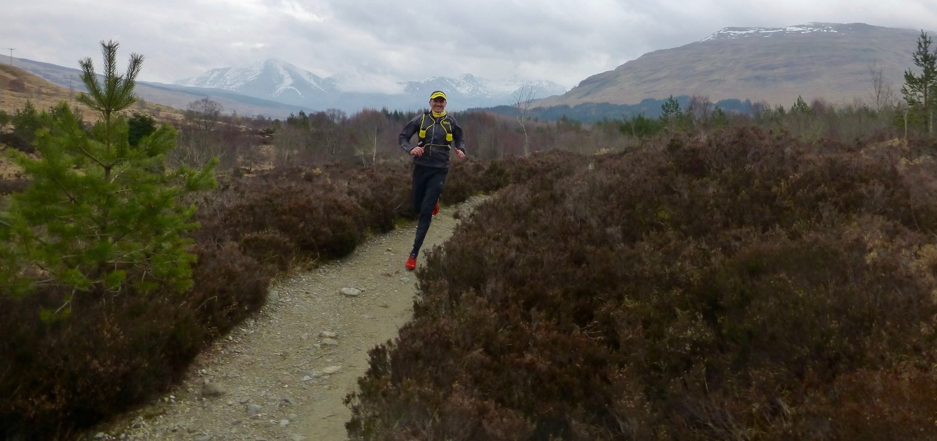 Dion Leonard, Scotland, Hoka Highland Fling 53 mile race